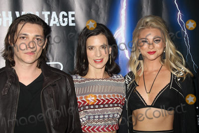 Allie Gonino Photo - Ryan Donowho  Perrey Reeves Allie Gonino Guest 10162018 The Los Angeles premiere of High Voltage held at TCL Chinese Theatre in Hollywood CA Photo by Hiro Katoh  HollywoodNewsWireco