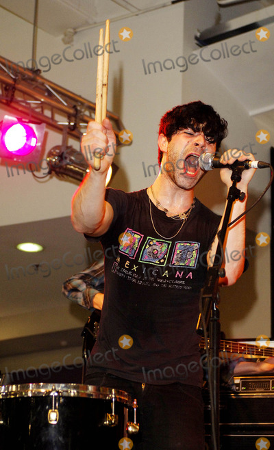 Photos and Pictures - London, UK  Yannis Philippakis of the