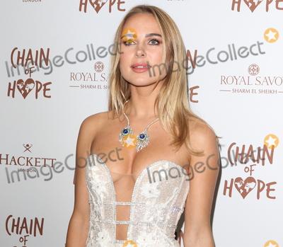 Photo - London UK  Kimberley Garner  at the Chain Of Hope Ball at Old Billingsgate Lower Thames Street London 16 November 2018 RefLMK73-S1930-171118Keith MayhewLandmark Media WWWLMKMEDIACOM