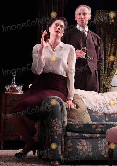Anna Chancellor Photo - London UK Anna Chancellor and Nicholas Farrell in the theatre play South Downs held at the Harold Pinter Theatre 23rd April 2012Keith MayhewLandmark Media