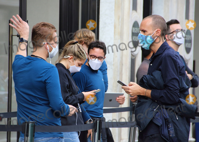 Photos From Face masks in London