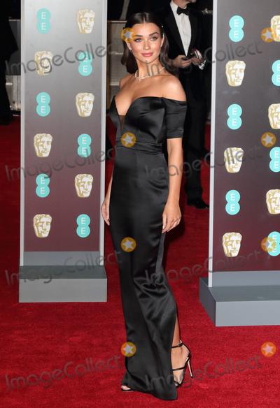Photo - London UK  Amy Jackson at EE British Academy Film Awards 2018 - Red Carpet Arrivals at the Royal Albert Hall London on Sunday February 18th 2018 Ref LMK73 -J1591-190218Keith MayhewLandmark Media WWWLMKMEDIACOM
