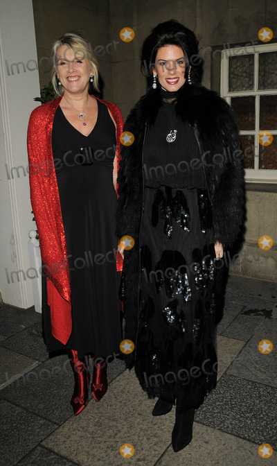 Christina Estrada Photo - London UK  Christina Estrada and guest at the Vivienne Westwood And London Musici Charity Evening of Fashion And Music held at Banqueting House in Whitehall18 November 2008 Ref  Can NgyuenLandmark Media