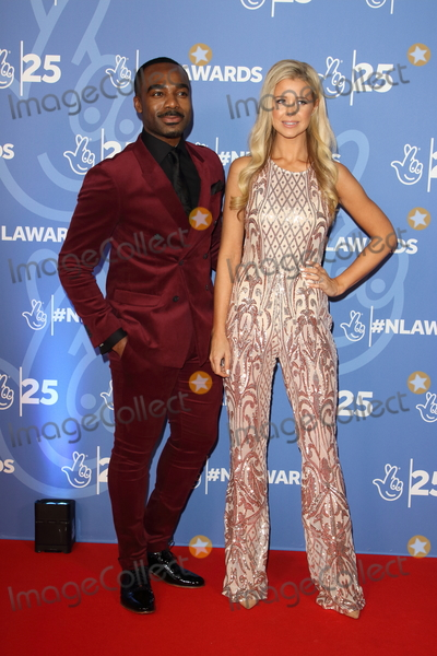Photo - London UK Ore Oduba and Portia Oduba  at National Lottery Awards 2019 held at BBC Wood Lane London on October 15th 2019Ref LMK73-J5616-161019Keith MayhewLandmark MediaWWWLMKMEDIACOM