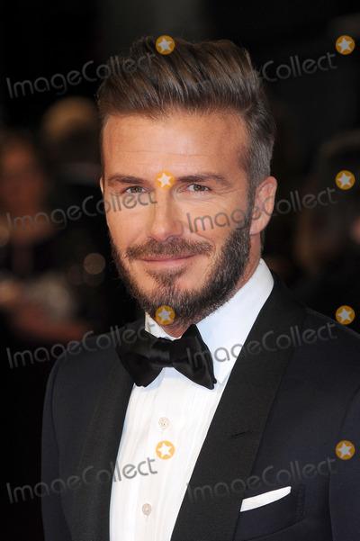 Photo - London UK David Beckham  at the EE BAFTA British Academy Film Awards Red Carpet Arrivals at the Royal Opera House Covent Garden London 8th February  2015 RefLMK200-50550-090215Landmark MediaWWWLMKMEDIACOM
