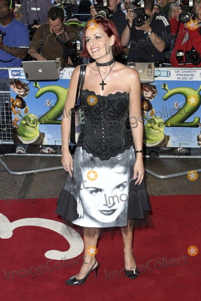 Photos And Pictures London Sarah Cawood At The London Premiere Of The Film Shrek 2 Held At The Empire Leicester Square 28 June 2004 Paolo Pirez Landmark Media