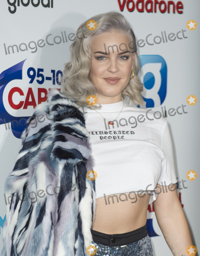 Photo - London UK  Anne-Marie  at Capitals Summertime ball with Vodafone at Londons Wembley Stadium 10th June 2017Ref LMK386-S329-110617Gary MitchellLandmark MediaWWWLMKMEDIACOM