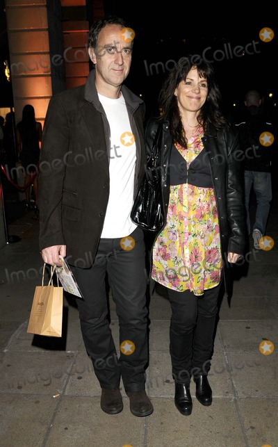 Angus Deayton Photo - London UK  Angus Deayton and Lisa Mayer  at the Gala Opening of Never Forget - The Take That Musical held at the Savoy Theatre Strand London 22nd May 2008Can NguyenLandmark Media