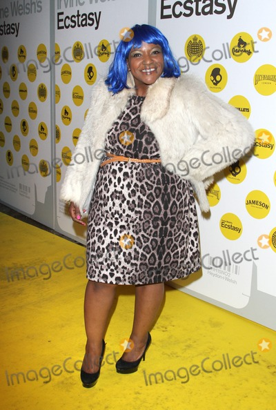 Irvine Welsh Photo - London UK Angie Brown at the World Premiere of Irvine Welshs Ecstasy at Ministry Of Sound17th April 2012Keith MayhewLandmark Media