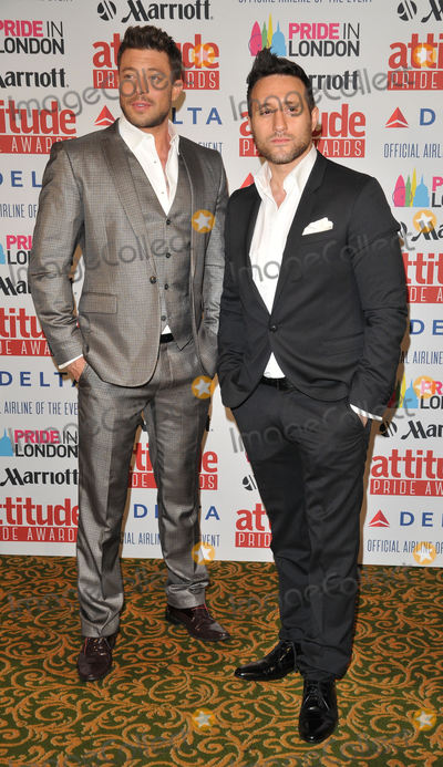 Antony Costa Photo - London UK Duncan James  Antony Costa at  the Attitude Pride Awards 2015 Grosvenor House Hotel Park Lane on Friday June 26 2015 in London England UK Ref LMK315 -51472-290615Can NguyenLandmark Media WWWLMKMEDIACOM
