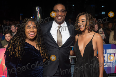 George Tillman Jr Photo - London UK  (L-R) - Author Angie Thomas Director George Tillman Jr and Amandla Stenberg   at  the Special Presentation and European Premiere of The Hate U Give  at The 62nd BFI London Film Festival at Cineworld Leicester Square London England UK on Saturday 20 October 2018 Ref  LMK370-S1696-211018Justin NgLandmark MediaWWWLMKMEDIACOM