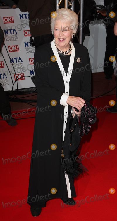 June Whitfield Photo - London UK June Whitfield   at   the National Television Awards held at the O2 Arena 20th January 2010Keith MayhewLandmark Media