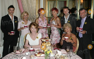 Andy Scott-Lee Photo - London Various celebrities  at the Share a Cuppa to help promote a charity to help raise funds for hospices in the UK BACKL-R Andy Scott Lee Melinda MessengerThe Cheeky Girls James Fox and Tony Blackburn FRONT Jane Asher and Jenny Bond The event called Tea at 3 was sponsored by Tetley Tea who help supply a drink always associated with the British    18th June 2004 PICTURES BY PAOLO PIREZ