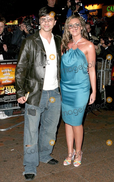 Andy Scott-Lee Photo - London Andy Scott Lee and Michelle Heaton from Liberty X at the World Premiere of the new movie After the Sunset at the Vue Cinema Leicester Square02 November 2004Paulo PirezLandmark Media
