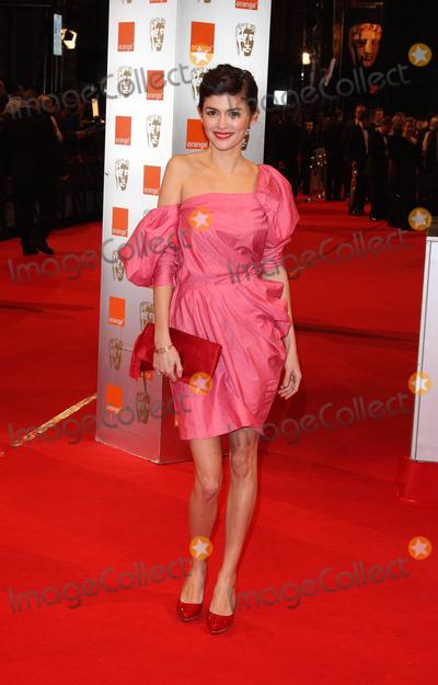 AUDREY TATOU Photo - London UK  Audrey Tatou at the British Academy Film Awards (BAFTA) held at the Royal Opera House in Covent Garden21 February 2010 Ref  Keith MayhewLandmark Media