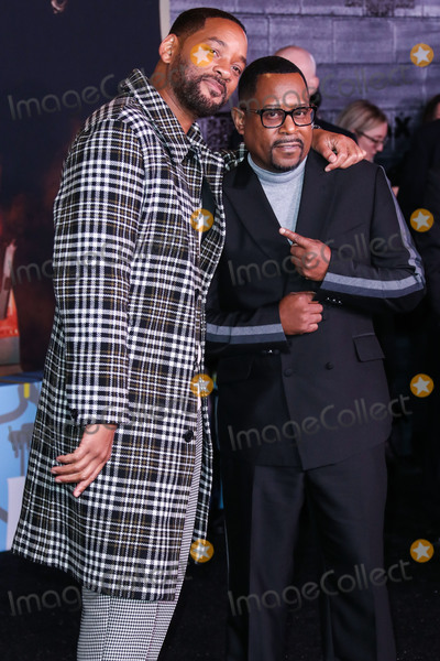 Will Smith Photo - HOLLYWOOD LOS ANGELES CALIFORNIA USA - JANUARY 14 Will Smith and Martin Lawrence arrive at the Los Angeles Premiere Of Columbia Pictures Bad Boys For Life held at the TCL Chinese Theatre IMAX on January 14 2020 in Hollywood Los Angeles California United States (Photo by Xavier CollinImage Press Agency)