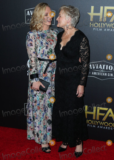 Photo - BEVERLY HILLS LOS ANGELES CA USA - NOVEMBER 04 Annie Starke Glenn Close at the 22nd Annual Hollywood Film Awards held at The Beverly Hilton Hotel on November 4 2018 in Beverly Hills Los Angeles California United States (Photo by Xavier CollinImage Press Agency)