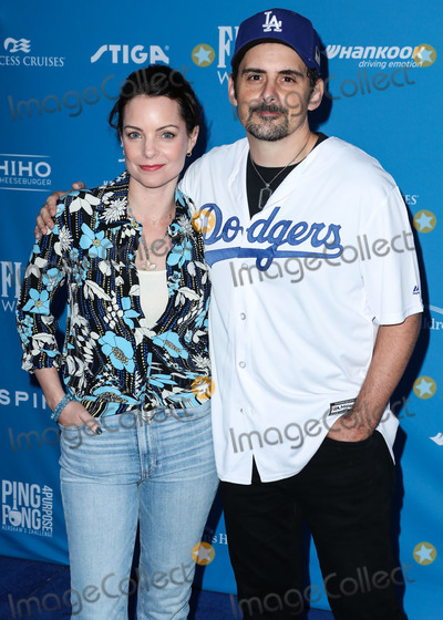 Kimberly Williams Photo - LOS ANGELES CALIFORNIA USA - AUGUST 08 Kimberly Williams-Paisley and husbandsinger Brad Paisley arrive at Clayton Kershaws 7th Annual Ping Pong 4 Purpose Fundraiser held at Dodger Stadium on August 8 2019 in Los Angeles California United States (Photo by Xavier CollinImage Press Agency)