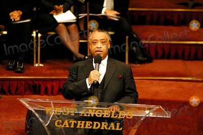 Photo - Funeral of Johnnie L Cochran Jr