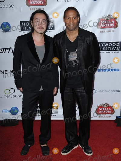 Yasu Shibuya Photo - Yasu Shibuya Dante Carver attending the Opening Night Gala of Hollywood Film Festival Held at the Arclight Theater in Hollywood California on October 16 2014 Photo by D Long- Globe Photos Inc