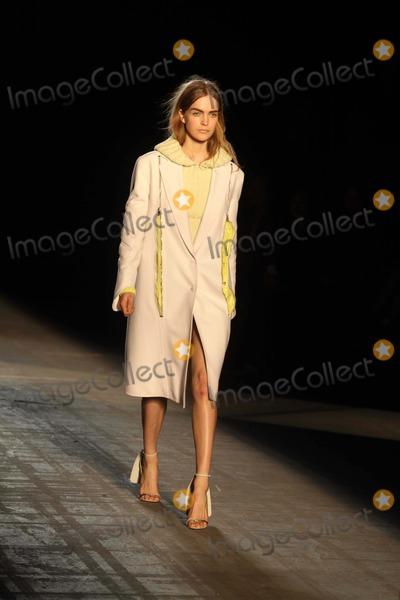 Photo - Alexander Wang Fashion Show Runway Mercedes-benz Fashion Week NY