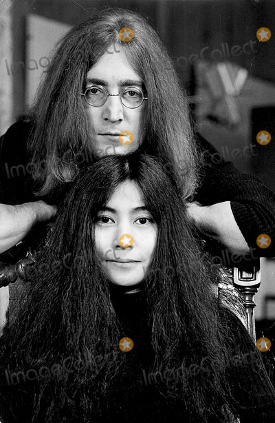 Photo - Photo Tom Blau- Cp-Globe Photos Inc John Lennon Yoko Ono