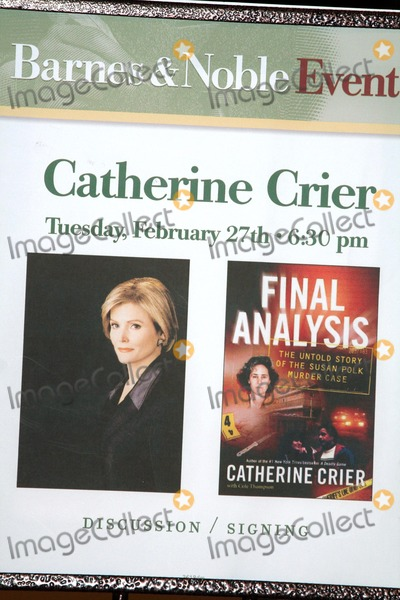 final analysis crier catherine