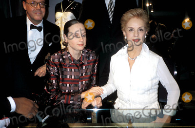 Alexandra Kotur Photo - Carolina Herrera Book Signing and Party at Bergdorg Goodman in New York 11-9-2004 Photo Byrose HartmanGlobe Photos Inc 2004 Alexandra Kotur and Carolina Herrera