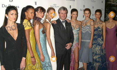Alain Lorenzo Photo - W Magazine - World Premiere of DE Beers Lv Diamond Jewelry Regent Beverly Wilshire Beverly Hills CA 01152003 Photo by Milan Ryba  Globe Photos Inc 2003 Models Wearing DE Beers Jewelry with Alain Lorenzo - Ceo DE Beers Lv