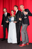 Alan Taylor Photo - Chris Hemsworth (Actor) Natalie Portman (Actress)Tom Hiddleston (Actor) and Alan Taylor (Governing) attending the Germany premiere of the movie THOR THE DARK KINGDOM at CineStar Sony Center Potsdamer Platz in Berlin Berlin 27102013 Credit Timmface to face