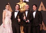 Alan Barillaro Photo - 26 February 2017 - Hollywood California - Hailee SteinfeldAlan Barillaro Marc Sondheimer Gael Garcia Bernal 89th Annual Academy Awards presented by the Academy of Motion Picture Arts and Sciences held at Hollywood  Highland Center Photo Credit Theresa ShirriffAdMedia