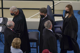 Supremes Photo - From l-r House Minority Whip Steve Scalise R-La US Supreme Court Associate Justice Neil M Gorsuch Supreme Court Justice Brett Kavanaugh former President George W Bush and Supreme Court Justice Amy Coney Barrett at the 59th Presidential Inauguration at the US Capitol in Washington Wednesday Jan 20 2021 (AP PhotoSusan Walsh Pool)AdMedia