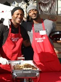 Aldis Hodge Photo - 23 December 2011 - Los Angeles California - Edwin Hodge and Aldis Hodge 78th Los Angeles Mission Christmas Meal For The Homeless Held At LA Mission Photo Credit Kevan BrooksAdMedia