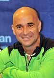 Andre Agassi Photo - 16 October 2012 - Pittsburgh PA - Tennis star ANDRE AGASSI attends the Press Conference before the Mylan WTT Smash Hits World Team Tennis Match held at the Petersen Events Center The 20th anniversary edition of Mylan WTTSmash Hits presented by GEICO was one for the record books with the event posting a record 1 million for the Elton John AIDS Foundation with a portion of those proceeds benefitting the Pittsburgh AIDS Task Force Theevent hosted annually by Sir Elton John and Billie Jean King has now raised more the 115 million to support HIV and AIDS prevention and awareness programs since the first Smash Hits was held in Los Angeles in 1993  Photo Credit Jason L NelsonAdMedia