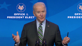 Queen Photo - United States President-elect Joe Biden makes remarks announcing Key Members of White House Science Team from the Queen Theatre in Wilmington Delaware on Friday January 15 2021 Credit Biden Transition TV via CNPAdMedia