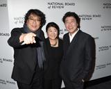 The National Photo - 08 January 2020 - New York New York - Bong Joon-Ho Jeong-eun Lee and Kang-ho Song at the National Board of Review Annual Awards Gala held at Cipriani 42nd Street Photo Credit LJ FotosAdMedia