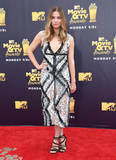 Annie Murphy Photo - 16 June 2018 - Santa Monica California - Annie Murphy 2018 MTV Movie and TV Awards held at  Barker Hangar Photo Credit Birdie ThompsonAdMedia