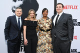 Nicole Avant Photo - 03 June 2019 - Los Angeles California - Ted Sarandos Sarah Sarandos Nicole Avant Tony Sarandos Netflixs The Black Godfather Los Angeles Premiere held at Paramount Theater Photo Credit Birdie ThompsonAdMedia