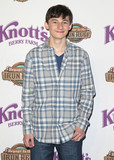 Jared Gilmore Photo - 14 May 2015 - Buena Park California - Jared Gilmore Knotts Berry Farm Celebrates the launch of their new ride Voyage To The Iron Reef held at Knotts Berry Farm Photo Credit F SadouAdMedia