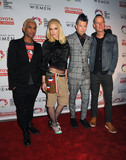 Adrian Young Photo - 16 May 2015 - Hollywood California - Tony Kanal Gwen Stefani Adrian Young Tom Dumont No Doubt An Evening With Women 2015 Benefit for the LGBT Center of Los Angeles held at the Hollywood Palladium Photo Credit Byron PurvisAdMedia