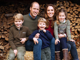Prince William Photo - 16th December 2020 - Image provided by Kensington Palace of the 2020 Christmas card of Prince William Duke of Cambridge and Kate Duchess of Cambridge Catherine Katherine Middleton which features an image taken in the autumn by photographer Matt Porteous showing the Duke and Duchess with their three children Prince George (left) Princess Charlotte (right) and Prince Louis at Anmer Hall in Norfolk Photo Credit ALPRAdMedia