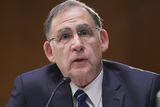 Barack Obama Photo - United States Senator John Boozman (Republican of Arkansas) speaks during a Senate Veterans Affairs Committee confirmation hearing for Denis McDonough US secretary of Veterans Affairs (VA) nominee for US President Joe Biden in Washington DC US on Wednesday Jan 27 2021 As Barack Obamas chief of staff McDonough oversaw the VAs overhaul in response to its 2014 wait-time scandal and previously served as a deputy national security adviserCredit Sarah Silbiger  Pool via CNPAdMedia