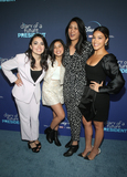 Agnes Chu Photo - 14 January 2020 - Hollywood California - Ilana Pena Tess Romero Agnes Chu Gina Rodriguez Premiere Of Disney s Diary Of A Future President held at the ArcLight Cinemas Photo Credit FSAdMedia