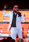 AJ McLean Photo - August 22 2013 - Atlanta GA - The Backstreet Boys performed in concert at the Chastain Park Amphitheatre Photo credit Dan HarrAdMedia