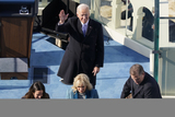 Supremes Photo - President Joe Biden waves after taking the oath of office from Supreme Court Chief Justice John Roberts during the 59th Presidential Inauguration at the US Capitol in Washington Wednesday Jan 20 2021 (AP PhotoSusan Walsh Pool)(AP PhotoSusan Walsh Pool)AdMedia