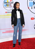 Amandala Stenberg Photo - 09 October 2018 - Los Angeles California - Amandala Stenberg 2018 American Music Awards - Arrivals held at the Microsoft Theater Photo Credit Birdie ThompsonAdMedia