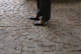 White House Photo - Shoes of United States Vice President Kamala Harris are seen while she sworn in Treasury Secretary Janet Yellen at the White House in Washington on January 26 2021Credit Yuri Gripas  Pool via CNPAdMedia
