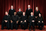 Supreme Court Photo - Members of the Supreme Court pose for a group photo at the Supreme Court in Washington DC on April 23 2021 Seated from left Associate Justice of the Supreme Court Samuel A Alito Jr Associate Justice of the Supreme Court Clarence Thomas Chief Justice of the United States John G Roberts Jr Associate Justice of the Supreme Court Stephen G Breyer and Associate Justice of the Supreme Court Sonia Sotomayor Standing from left Associate Justice of the Supreme Court Brett Kavanaugh Associate Justice of the Supreme Court Elena Kagan Associate Justice of the Supreme Court Neil M Gorsuch and Associate Justice of the Supreme Court Amy Coney Barrett Credit Erin Schaff  Pool via CNPAdMedia