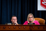 Hurts Photo - Ashley Hurt Callen Republican staff counsel speaks during a US House Judiciary Committee hearing considering articles of impeachment against US President Donald J Trump on Capitol Hill in Washington DC on December 9 2019 US Representative Doug Collins (Republican of Georgia) Ranking Member US House Judiciary Committee looks on from left Credit Erin Schaff  Pool via CNPAdMedia