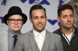 Andy Hurley Photo - 27 August 2017 - Los Angeles California - Andy Hurley Patrick Stump Pete Wentz and Joe Trohman of Fall Out Boy 2017 MTV Video Music Awards held at The Forum Photo Credit F SadouAdMedia